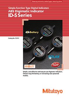 Mitutoyo ABS Digimatic ID-S mérőóra EN