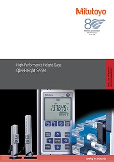 Mitutoyo QM magasságmérő EN