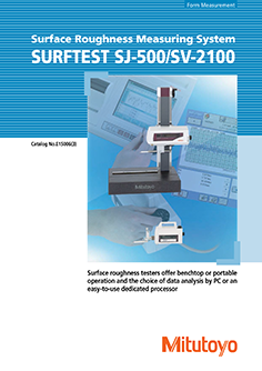 Mitutoyo Érdességmérő Surftest SJ-500/SV-2100 EN