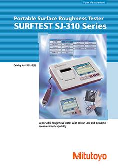 Mitutoyo Érdességmérő Surftest SJ-310  EN