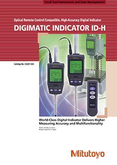 Mitutoyo Digimatic ID-H mérőóra EN