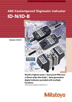 Mitutoyo ABS Digimatic ID-N/ID-B mérőóra EN