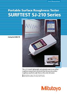 Mitutoyo Érdességmérő Surftest SJ-210  EN